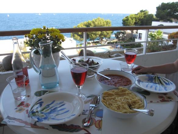 Middag på Mallorca